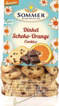 Sommer Kekse Schoko-Orange