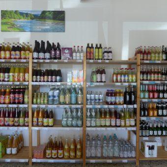 Auch ein reichhaltiges Angebot an Getränken steht zur Verfügung