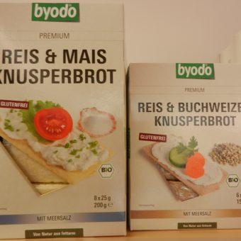 Zwei Beispiele für eine Vielzahl an glutenfreien Broten