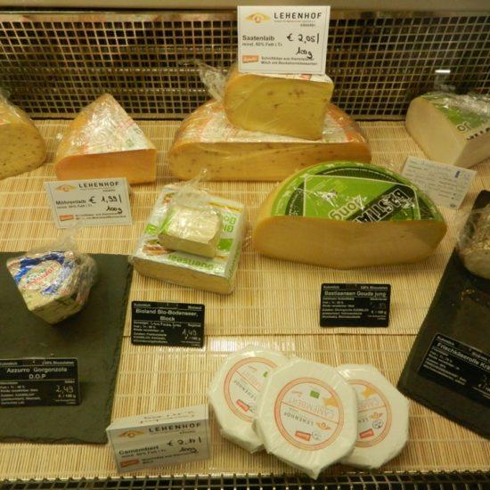 Ob Camembert, Ziegenkäse, Hart- und Weichkäse - probieren sie selbst