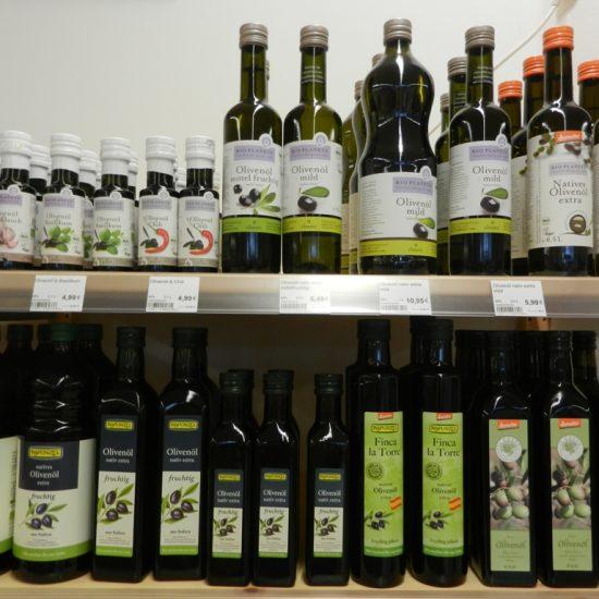 Die Wahl aus exzellenten Olivenölen könnte Ihnen bei diesem umfangreichen Angebot schwerfallen