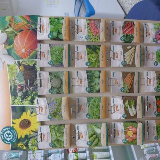 Saisonal bieten wir Bingenheimer Saatgut