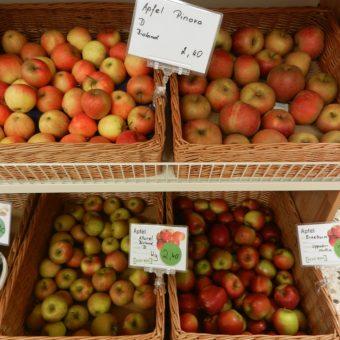 Z.B. knackige Äpfel von Herrn Roth/Lippertsreute